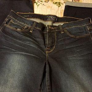 Lucky Brand Mollie Crop Jeans